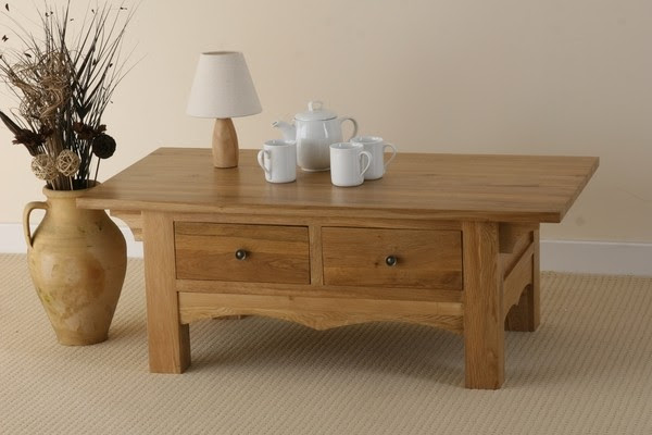 Cairo Solid Oak Coffee Table