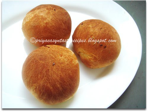 Flax Seeds Bread Rolls