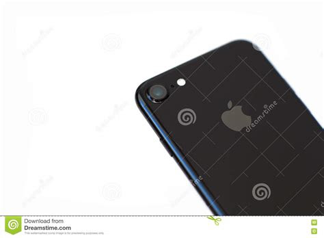 iphone  jet black onyx  isolated background