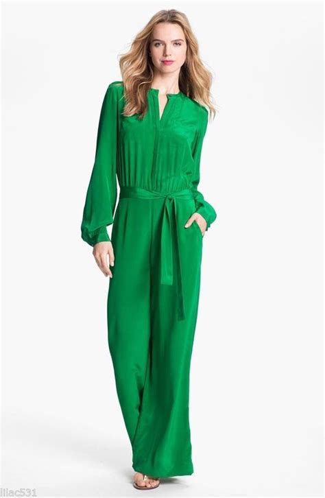 green jumpsuits