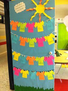 School Door Decorations on Pinterest