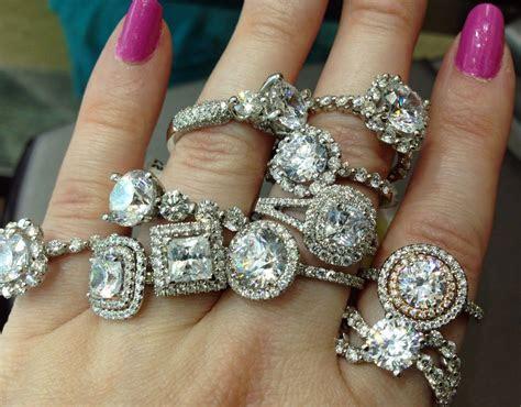 Diamond engagement rings by Sasha Primak. Via Diamonds in
