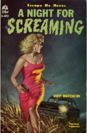 A Night for Screaming by Harry Whittington