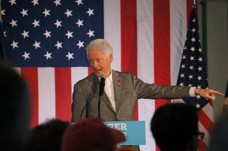 Image result for bill clinton flint
