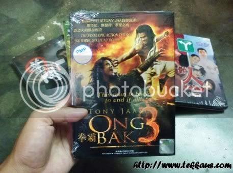 5 Original DVDs,Ong Bak 3