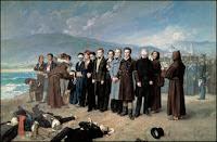 Fusilamiento de Torrijos y sus compañeros en las playas de Málaga, de Antonio Gisbert