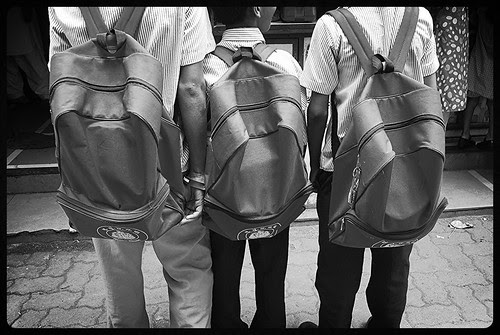 Our Education System Is Based On How Many Rocks You Carry In Your School Bag by firoze shakir photographerno1