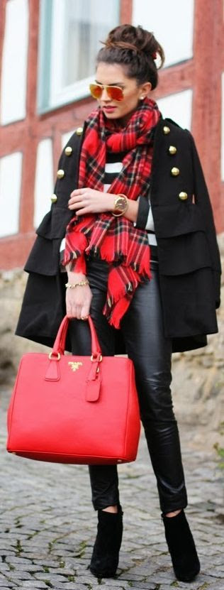 #Red  by Fashion Hippie Loves => Click to see what she wears