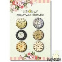 Фишки LemonCraft - Clocks 4, на клеевой основе - ScrapUA.com