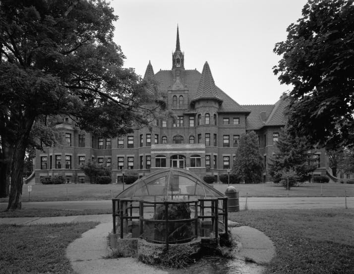 Odd Fellows Home for for Orphans, Indigent, and Aged. Public domain photo by the National Parks Service.