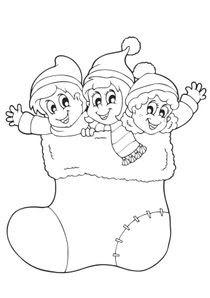 Coloriages Noël à Imprimer Coloriages Fetes