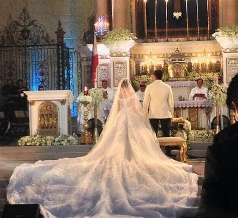 Marian rivera, Michael cinco and Wedding gowns on Pinterest