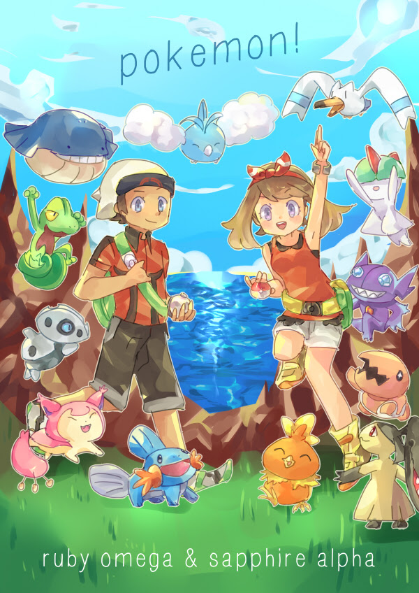 Pokemon: Omega Ruby And Alpha Sapphire by moondazzle on