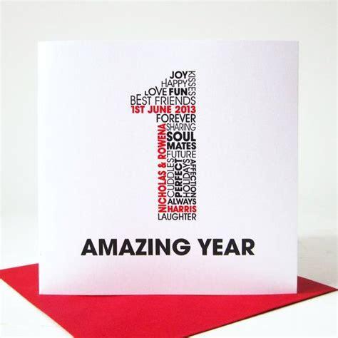 Best 25  1st anniversary cards ideas on Pinterest   1st