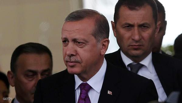 Turkish President Tayyip Erdogan looks on after arriving at Esenboga Airport, in Ankara, on June 8, 2015 after Erdogan's ruling party lost in the June 7 polls its absolute majority in parliament for the first time since coming to power in 2002, delivering a severe blow to President Recep Tayyip Erdogan's ambition to expand his powers. AFP PHOTO / ADEM ALTAN        (Photo credit should read ADEM ALTAN/AFP/Getty Images)