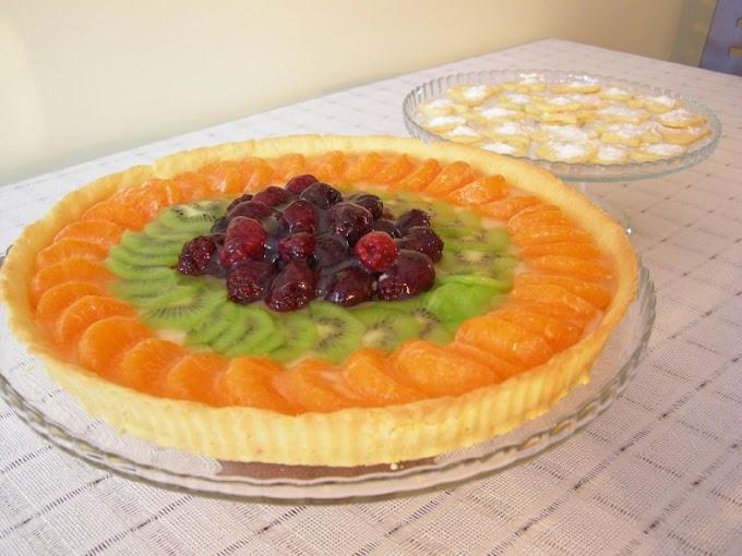 Meyveli Tart & Minik Bisküviler