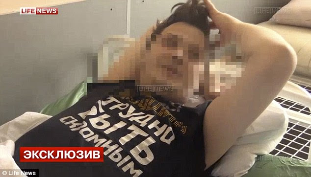 Dmitry Nikolaev, a married TV actor whose testicles were removed by a gang after he was apparently drugged in a bar in Moscow