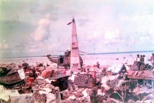 Penempatan awal Pasukan Khas Laut TLDM di Pulau Layang-Layang (Sumber Gambar: navythebest.blogspot.com)