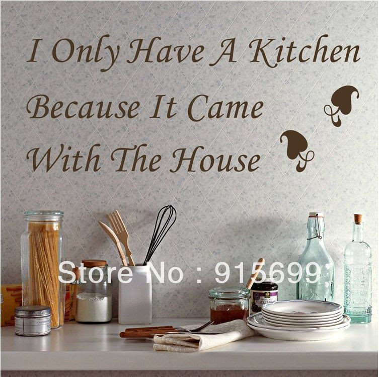 Kitchen Vinyl Wall Quotes. QuotesGram