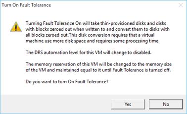 How to Setup VMware Fault Tolerance in vSphere 6 0 - TECHSUPPORT