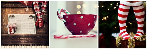 candy canes & stockings, oh my!