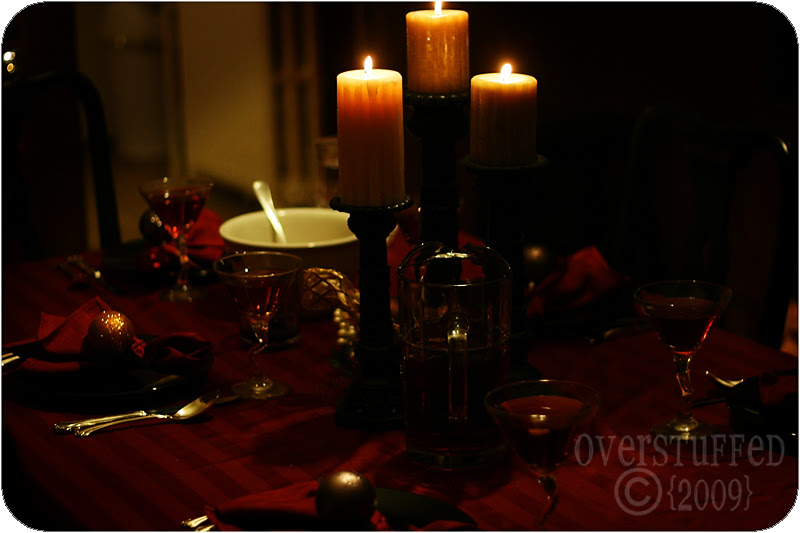 By candlelight