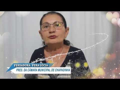 Mensagem de Natal e Ano Novo da vereadora Vera Lúcia
