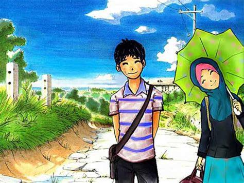 aneka gambar kartun anak muslim
