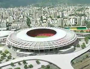 FRAME - Maracanã Reforma Projeto (Foto: Reprodução / TV Globo)