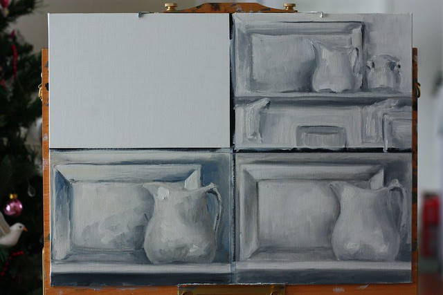 Still Life Value Studies 05Jan2014