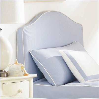 Lea Seaside Dreams Upholstered Panel Headboard with Slipcover
