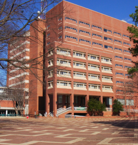 English: DH Hill Library at NC State Universit...