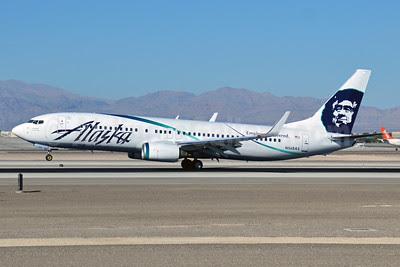 Alaska Airlines Boeing 737-890 WL N568AS (msn 35183) (Employee powered) LAS (Eddie Maloney). Image: 920902.