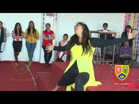 Inspiring Dance Performance : Teachers Day | Nims University | College Girl Dance