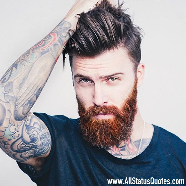 Beard Status Image muchh