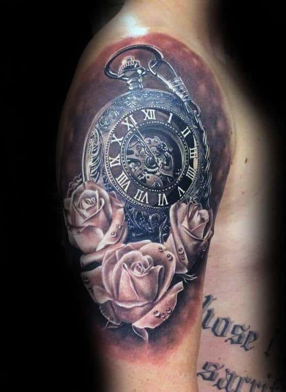 Rose Tattoo Half Sleeve Best Tattoo Ideas