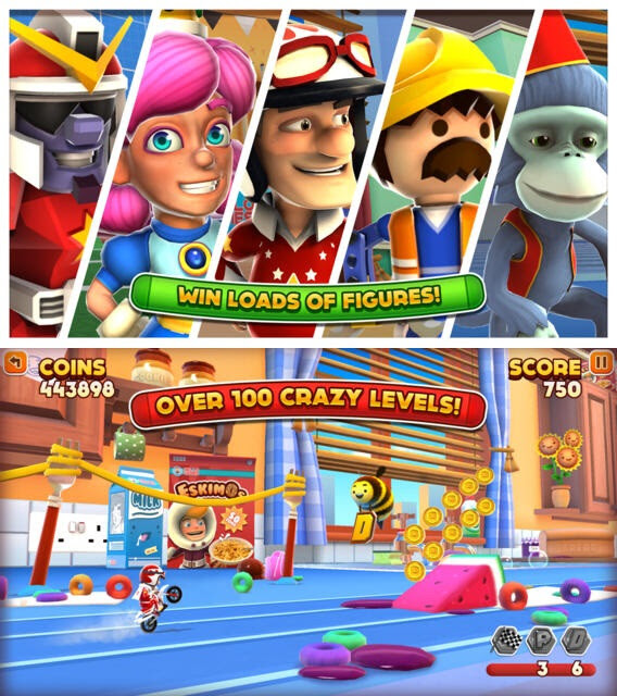 Joe Danger Infinity - Android, iOS - $1.29