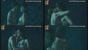 Ana Padrão sensual na serie Gente Feliz com lágrimas