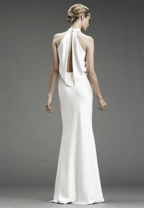 Best 25  Halter neck wedding dresses ideas on Pinterest