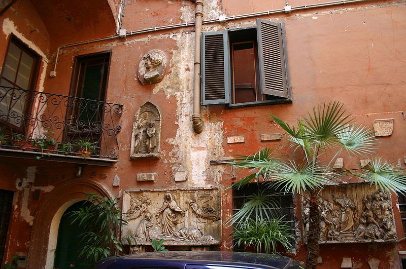 File:0306 - Roma - S. Silvestro in Capite - Cortile - Foto Giovanni Dall'Orto, 11-Apr-2008.jpg