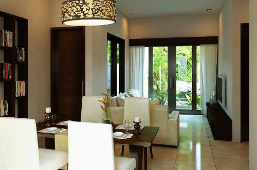 Desain interior rumah mungil type 36 tanpa partisi (Infokotajakarta)
