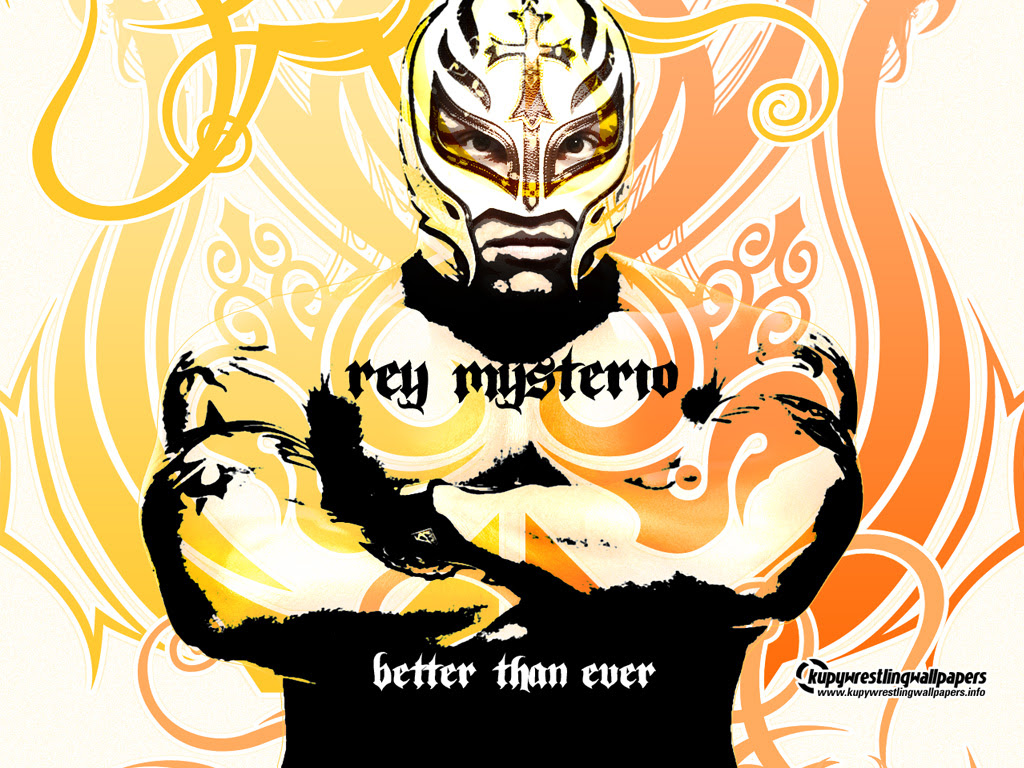 Rey Mysterio performing the
