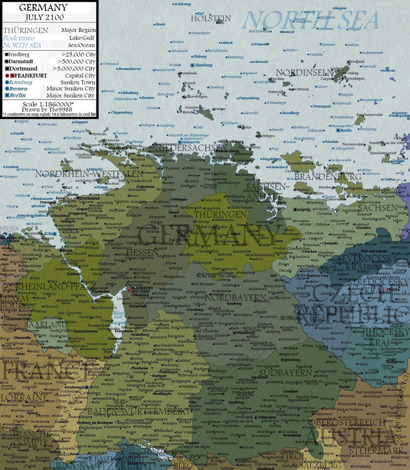 Germany in 2100 by The9988