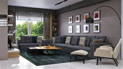 top grey living room ideas modern pictures brown sofa