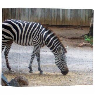 Zebra Vinyl Binders