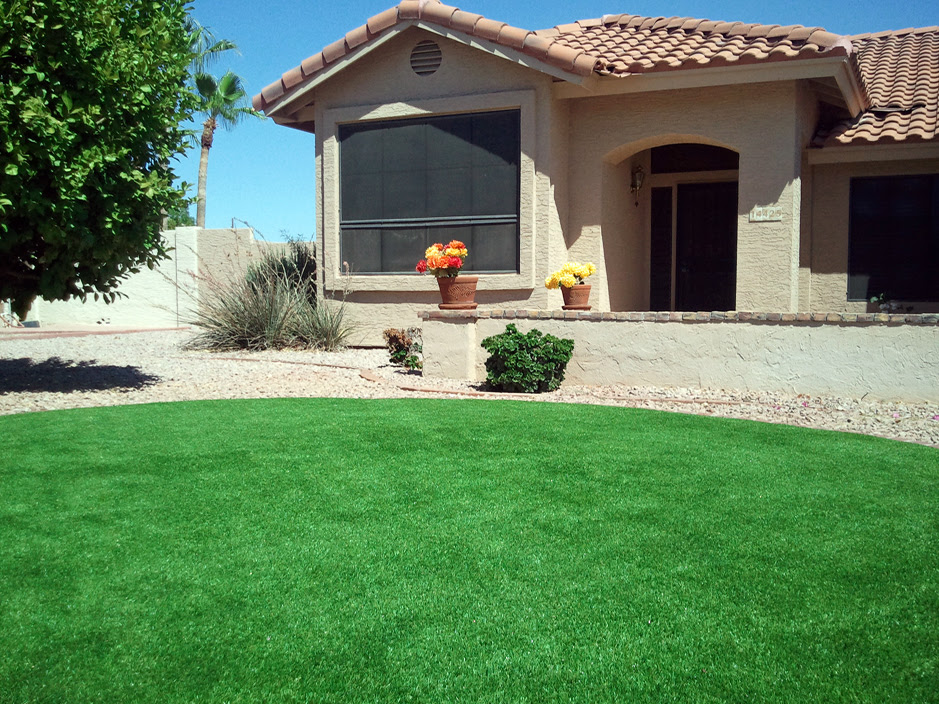 How To Install Artificial Grass Reydon Oklahoma Landscaping Front Yard Landscaping