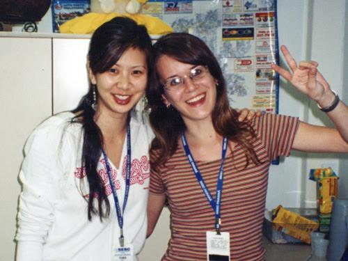 ila fox e Yuka Toyama no Sesc Londrina em 2005, dicas para ilustradores,