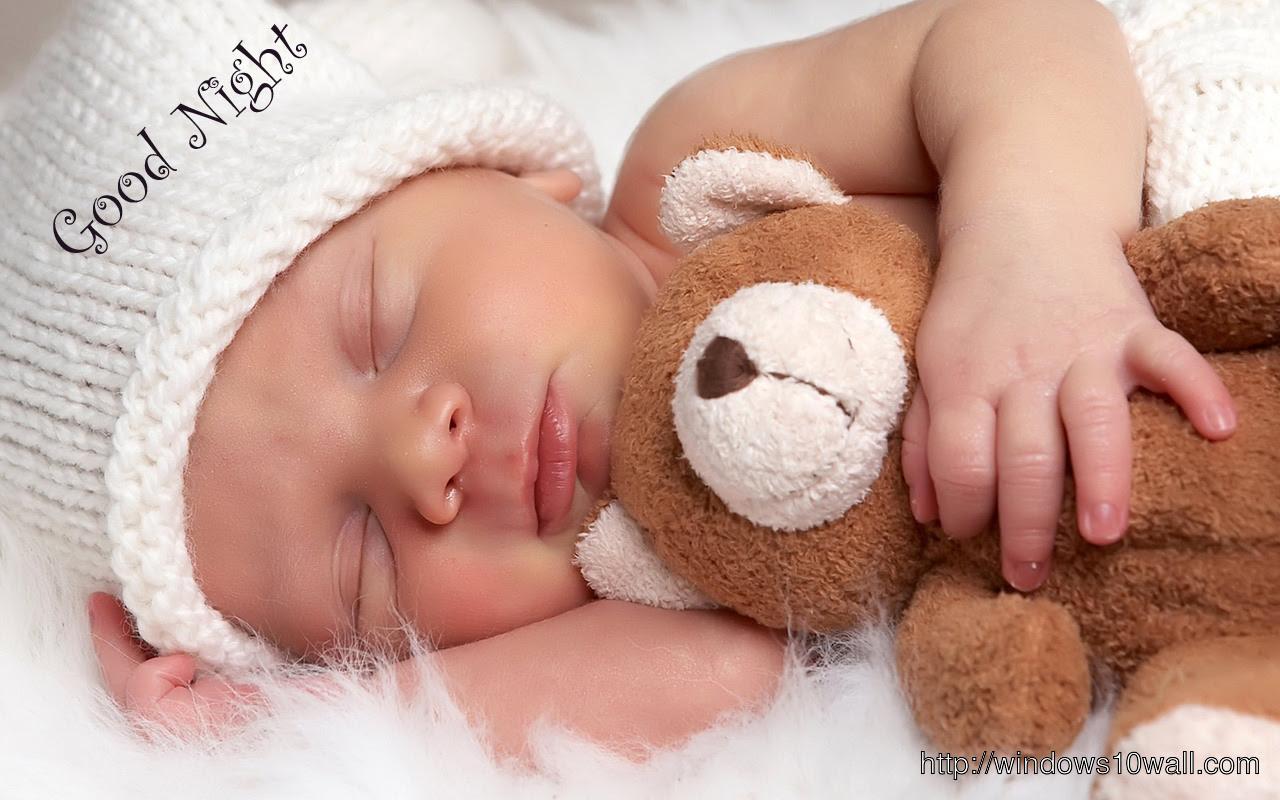 Cute Baby Saying Good Morning Pic Archidev