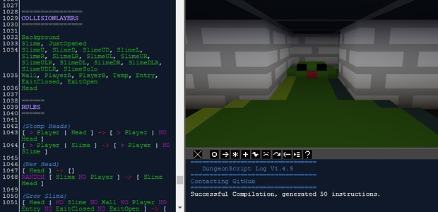 Internet | NEWS | Websites: DungeonScript is a simple