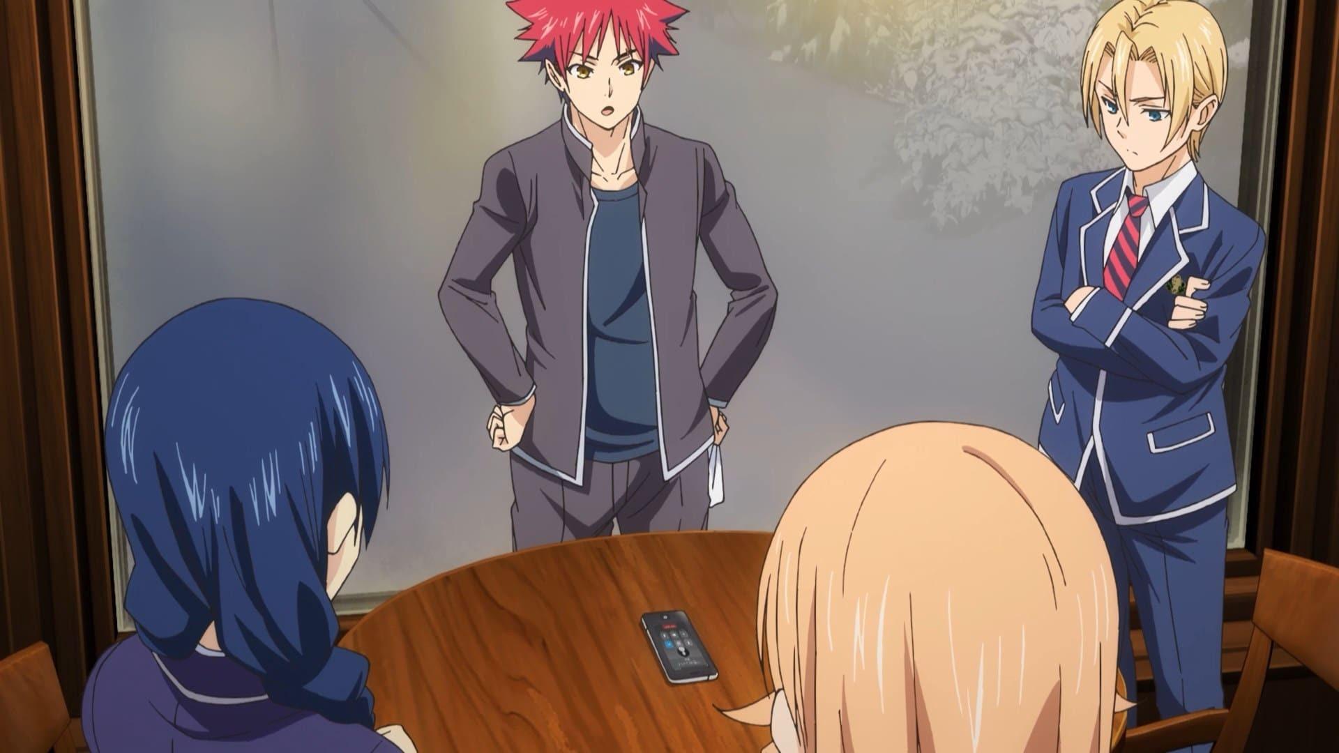 Ganzer Food Wars! Shokugeki no Sōma - Staffel 4 Episode 5 : You're Through HD Kostenlos TV Show ...